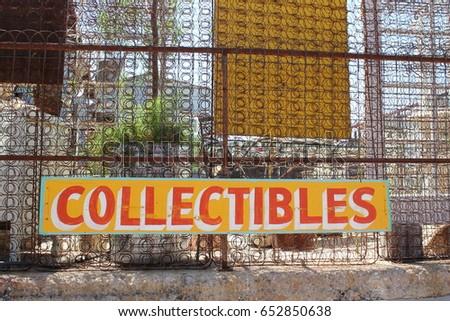 vintage outdoor collectibles...