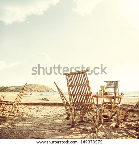 vintage palm beach background