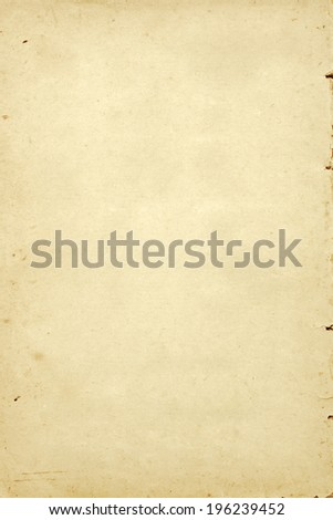 vintage paper and color filtered image with space for text or image. Paper texture background.