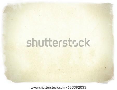 vintage paper texture - Shutterstock ID 653392033