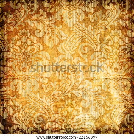 vintage patterns - stock photo