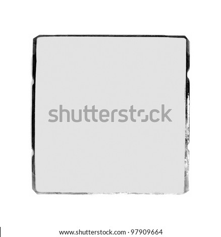 Vintage photo blank frame