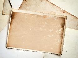 Vintage photo frame background
