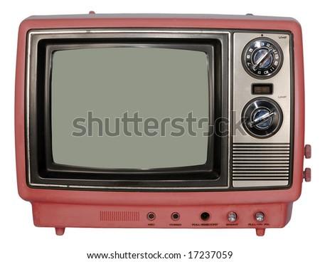 Vintage Pink TV