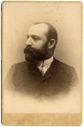 Vintage portrait of a  men. The shot was taken around 1912 year,Germany.