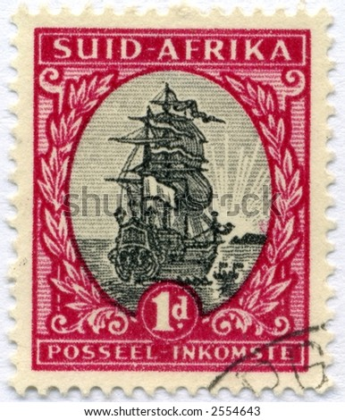 vintage postage stamp world ephemera africa