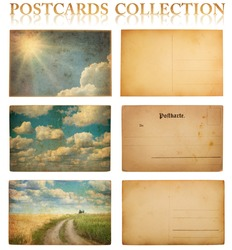 vintage postcard collection