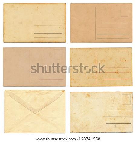 vintage postcard collection