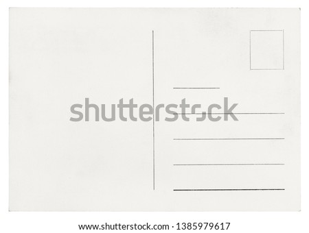 Vintage Postcard - isolated (clipping path included) #1385979617