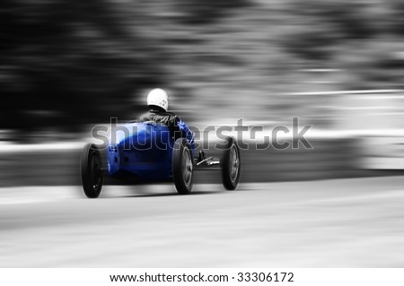 Vintage Antique Auto Racing on Vintage Racing Car Stock Photo 33306172   Shutterstock