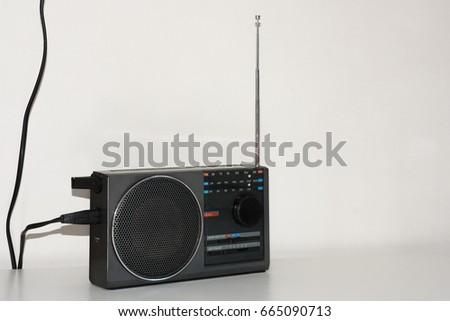 Vintage radio #665090713