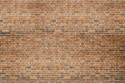 Vintage red brick old wall texture background