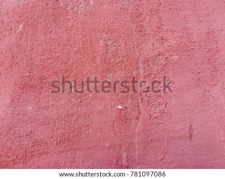 vintage red sand stone wall...