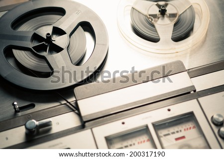 vintage reel to reel player and recorder #200317190