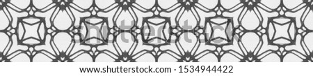 Vintage Repeat Lace Pattern. Ornamental Geometry. Ornamental Geometry. Brown and Sepia Embroidery net. Old fashion Design. Hand Drawn. Kaleidoscope Effect. Floral Elements Floral Elements