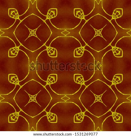 Vintage Repeat Pattern Tile. Ornamental Geometry. Ornamental Geometry. Golden Silver Oriental style. Antique Element Bright Kaleidoscope Pattern Floral Pattern. Floral Elements