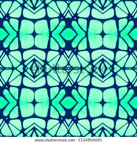 Vintage Repeat Pattern Tile. Ornamental Geometry. Ornamental Geometry. Organic Colors. Oriental style. Antique Element Hand Painted Kaleidoscope Effect. Floral Design. Floral Elements