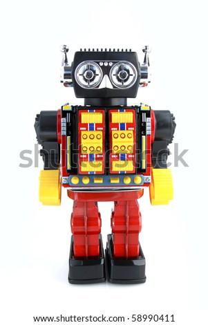 Vintage Retro Robot