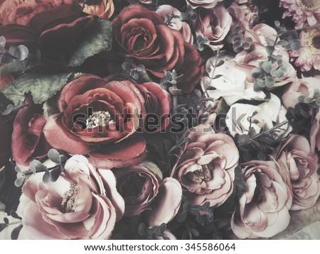 Vintage roses #345586064