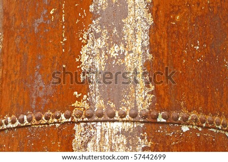 Vintage rusted industrial machinery artifact background