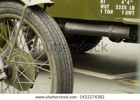 Vintage 1940s Army vehicles and wheels  #1422274382
