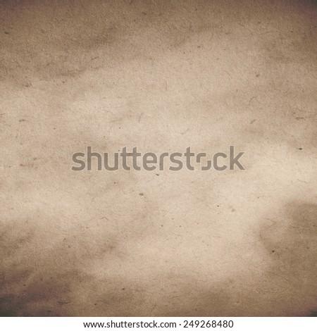 Vintage 1700s Gray Brown Paper Parchment Background Texture