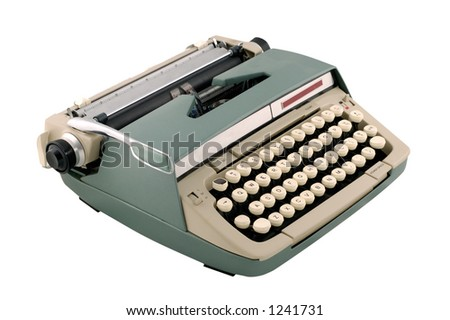Vintage 1960s Manual Typewriter