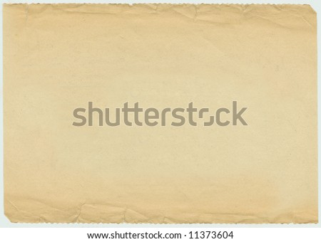 Vintage (1940s) newspaper blank background with edges
