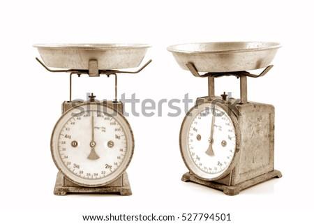 vintage scales  old scales ...