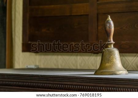 Vintage school bell