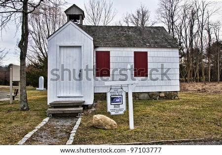 Vintage school house built in 1835