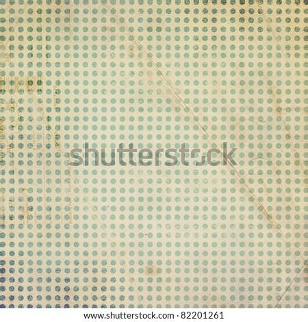 Vintage scrap paper template