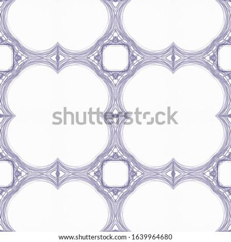Vintage Seamless Background. Ethnic Ornament Print. Ornamental Geometry. Organic Colors. Dressing element Antique Element Hand Painted Kaleidoscope Art. Floral Elements Floral Pattern.