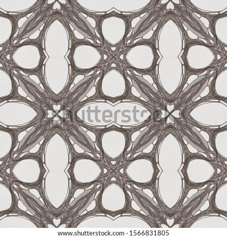 Vintage Seamless Background. Islamic geometry Ethnic Ornament Print. Natural Colors. Dressing element Antique Element DIY effect art. Kaleidoscope Art. Floral Elements Floral Design.
