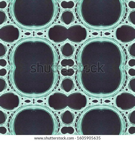 Vintage Seamless Background. Ornamental Geometry. Ornamental Geometry. Black and White. Embroidery net. Asian Ornament. Hand Painted Kaleidoscope Effect. Floral Elements Floral Pattern.