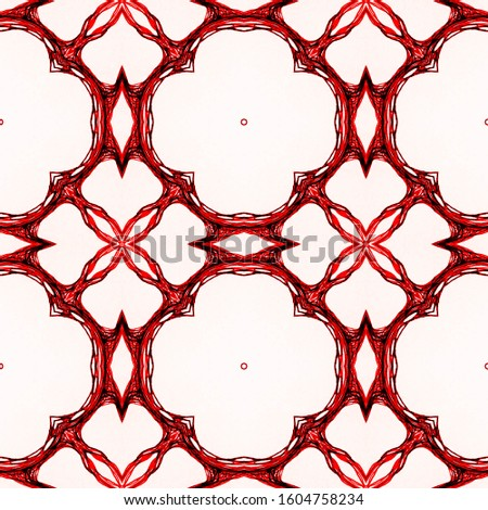 Vintage Seamless Background. Ornamental Geometry. Ornamental Geometry. Sepia Colors Embroidery net. Old fashion Design. Hand Drawn. Kaleidoscope Effect. Floral Design. Floral Pattern.