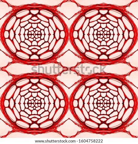 Vintage Seamless Tile Pattern. Ornamental Geometry. Vintage Ceramic tile. Sepia Colors Dressing element Antique Element Hand Painted Kaleidoscope Pattern Floral Elements Floral Elements