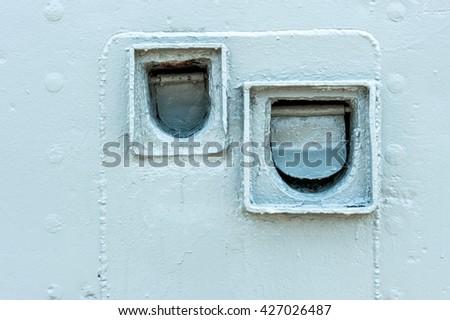 vintage sewer ship