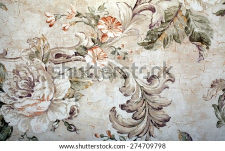 vintage shabby chic wallpaper...