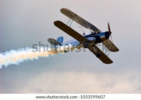 vintage single engine propeller ...