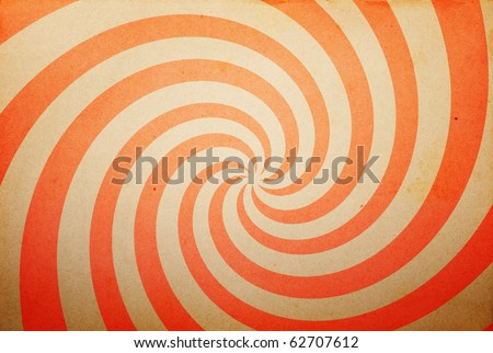 vintage spiral paper background