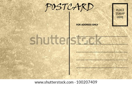 Vintage postcard template download vintage stained postca pic source pronofoot35fo Image collections