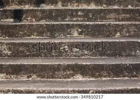 vintage stair  beware your step ...