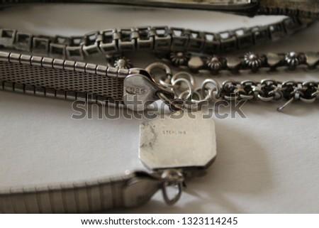 Vintage Sterling Silver #1323114245