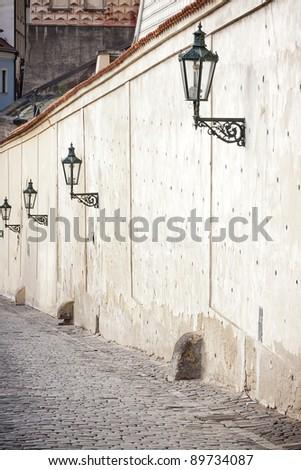 vintage street lamps, Prague, Czech Republic. See my portfolio for more