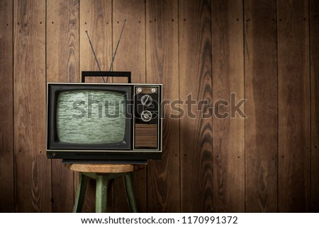 vintage style TV  #1170991372