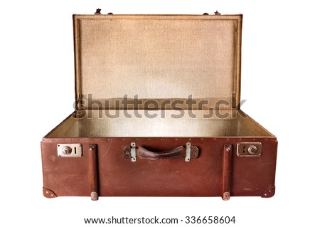 vintage suitcase lighting...