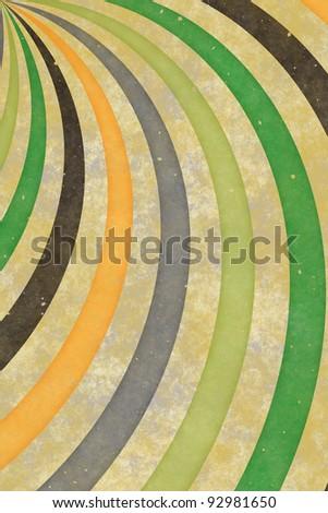 Vintage swirl sunburst background