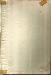 Vintage tan paper with old adhesive tape. Bent and broken edges. Foxing paper texture background.