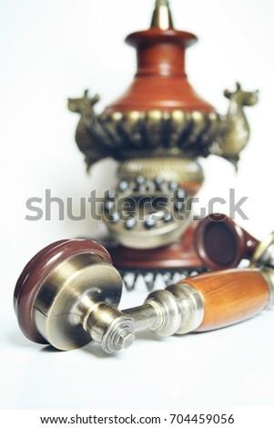 Vintage telephone retro telephone #704459056